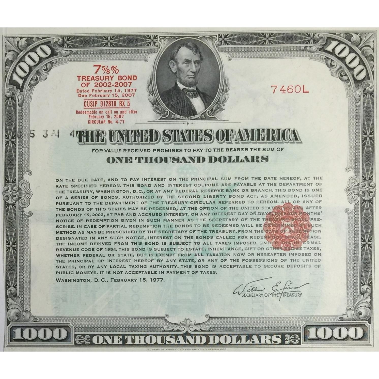 26) 1890 Columbus Shawnee and Hocking Railway Company $1,000
